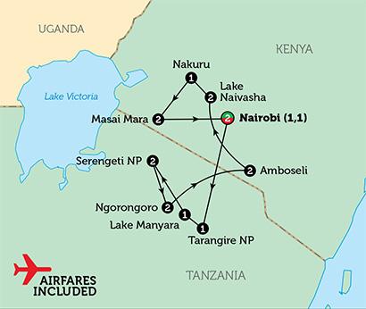 kenya-tanzania-map